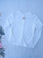 Блузка школьнаяподростковая для девочки от 8до 12лет, белая
