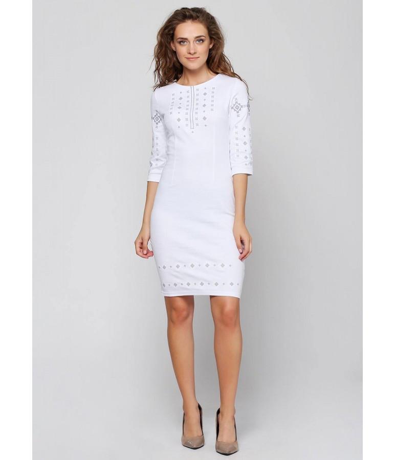 2897865aeec Платье вышитое. Белое платье. Платье вышивка. Украинские платья. Платье  вышиванка. -