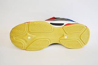 Кросівки жіночі червоно-сірі Sopra 806, фото 3