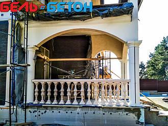 Балясины на Крюковщине | Балюстрада бетонная в Киевской области 7