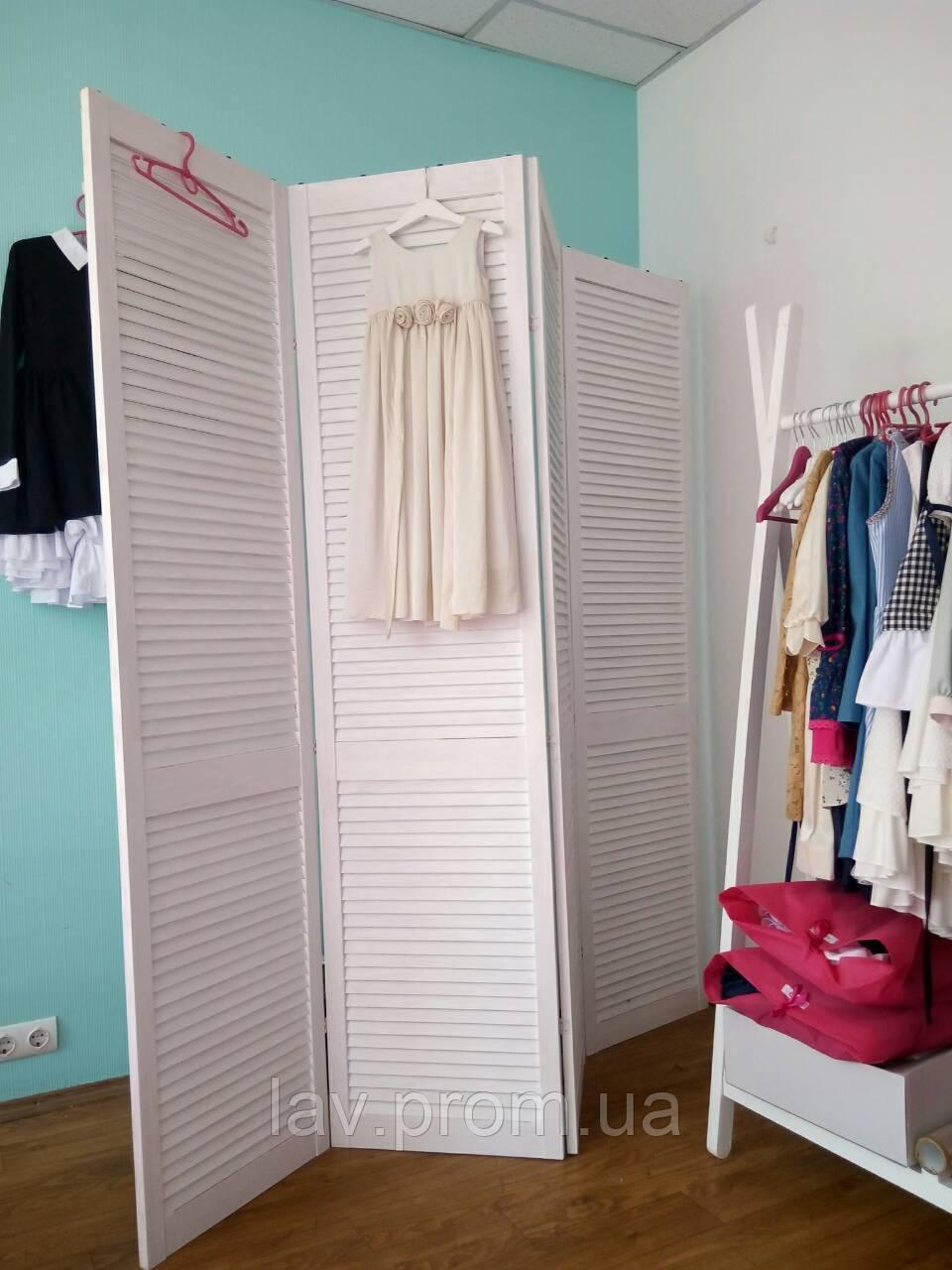 434d05b5f0ed1 Ширма деревянная для магазина детской одежды на 4 секции. - Ширма на заказ  в Киевской