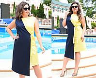 Женское платье коттон 46-58, фото 1