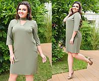 Женское платье чокер 46-58, фото 1
