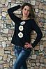 """Женская свитшот вышиванка """"БУКЕТ РОМАШОК"""" размеров  42, 44, 46, 48, 50, 52, 54, 56 ,   купить"""
