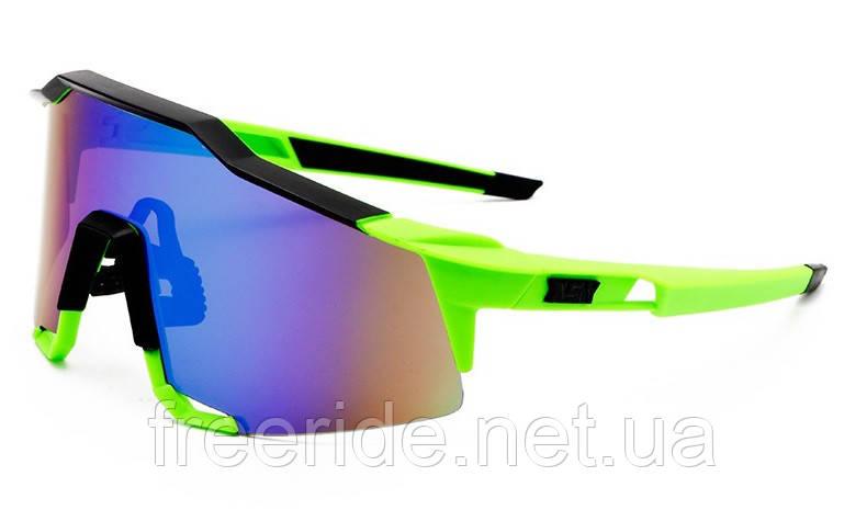 Солнцезащитные спортивные велоочки XSY в футляре