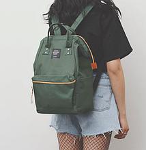 Рюкзак  с ручками цвета хаки