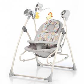 Кресло-качеля CARRELLO Nanny CRL-0005, grey planet