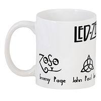 Кружка GeekLand Led Zeppelin Лед Зеплин лого 2.10