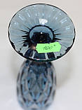 Бокал под шампанское, синий, стеклянный, фото 2