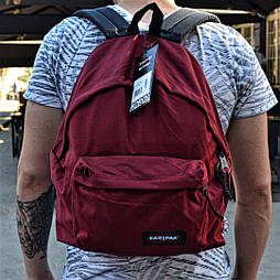 Рюкзак Eastpak Bag bordo. Живое фото! (Реплика ААА+)