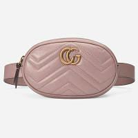 Женская поясная сумка в стиле  Gucci (Гуччи), фото 1