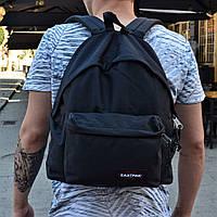 Рюкзак Eastpak Bag черный. Живое фото! (Реплика ААА+)