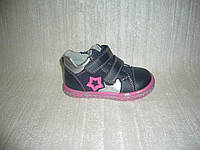 Демисезонные ботинки для девочек Apawwa размер 23 цвет синий