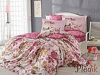 Комплект постельного белья 200х220 HOBBY Exclusive Sateen Rosanna розовый