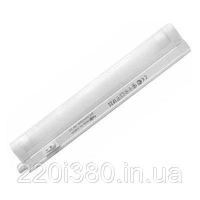 Светильник CAB28A 28W T5 с выкл. белый, с сетевым шнуром (комплект) 1181*42*23 FERON