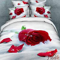 Семейное постельное белье сатин LOVE YOU  ВЕРНОСТЬ
