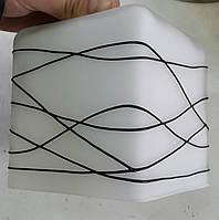 Большой плафон квадрат Е27, фото 1