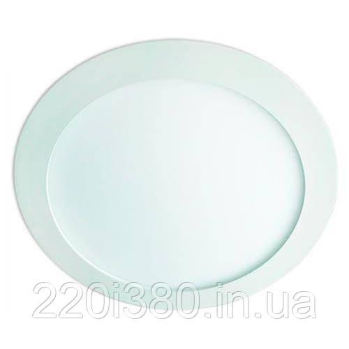 Светильник AL500 3W круг встраиваемый, белый 240Lm 5000K 80*22mm FERON
