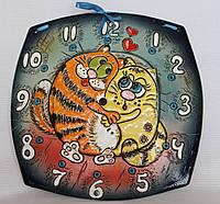 """Часы настенные  """"Два кота"""""""