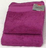 Махровое полотенце банное 100х150, Италия Gabel Малиновый