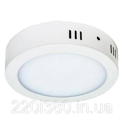 Светильник AL504 18W круг накладной 1440Lm 5000K 225*40mm FERON
