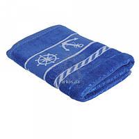 Банные махровые полотенца 2474 морские