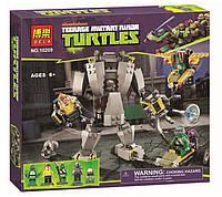 Конструктор Ninja Turtles 10209 Нападение робота Бакстера