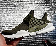 Новая модель Nike Sock Dart цвет хаки реплика
