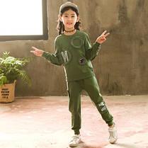 Детский костюм на девочку трикотажный, фото 2