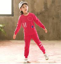 Детский костюм на девочку трикотажный, фото 3