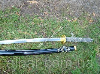 Самурайский меч катана дракон