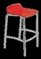 Барный стул Papatya X-Treme BSS прозрачно-красный, фото 1
