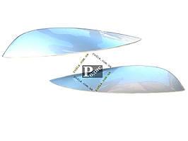 Реснички CHEVROLET Lacetti Sd №1 (Spirit) (серебро) - Накладки на оптику декоративные Шевроле Лачетти