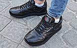 Мужские кроссовки Reebok Classic Black. Топ качество. Живое фото! (Реплика ААА+), фото 2