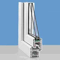 Трехкамерная профильная система Rehau Euro-Design 60
