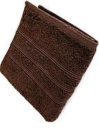 Полотенце 50х90 хлопок 100%, Irya Classis D. Brown коричневый