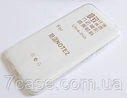Чехол для Meizu M2 Note силиконовый ультратонкий прозрачный