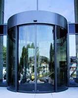Полукруглые автоматические раздвижные двери