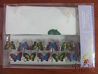 Штора для ванной 180х180 Arya Butterflyс бабочками