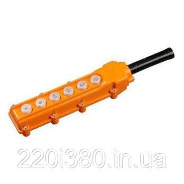 Пульт управления ПКТ-63 на 6 кнопки IР54 ИЭК