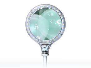 Лампа-лупа настольная LED 3D, фото 3
