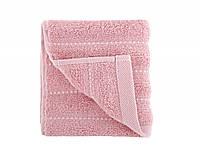 Махровое полотенце 50х90 Irya Frizz Pembe розовое