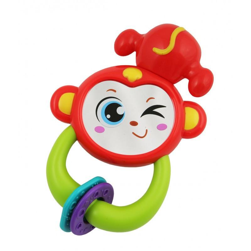 Погремушка  baby mix обезьянка