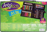 Набор для рисования Арти Факт на 68 шт. в кейсе / Darice Artyfacts Portable Studio Art Set 68 pcs, фото 1