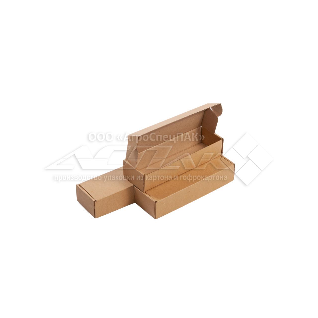 Картонні коробки 200*62*40 бурі