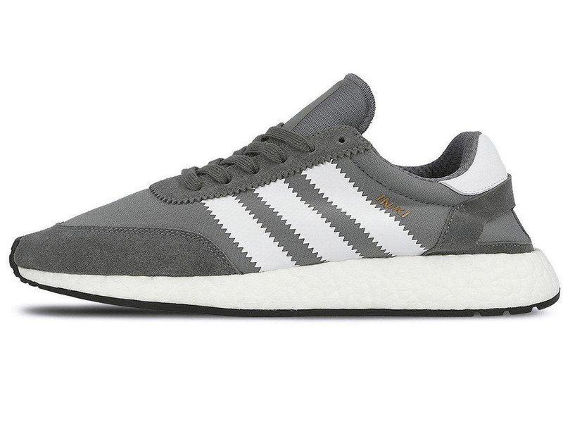 Женские кроссовки Adidas Iniki runner Grey