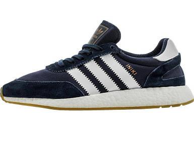 Мужские кроссовки Adidas Iniki runner Blue