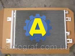 Радиатор кондиционера на Рено Логан (Renault Logan) 2009-2013