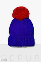 Яркая стильная шапка