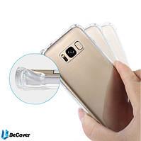 Силиконовый чехол BeCover для Samsung Galaxy S8 G950 Transparancy + Защитная бронированная пленка (701346)